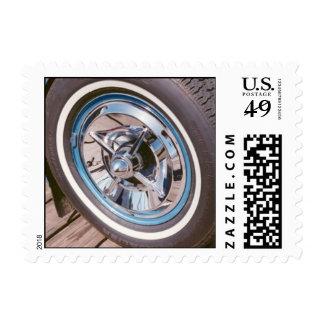 classic hub postage stamp