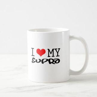 """Classic """"I Love My Supra"""" design Coffee Mug"""