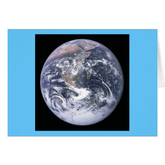 Classic Iconic Earth Image Greeting Card