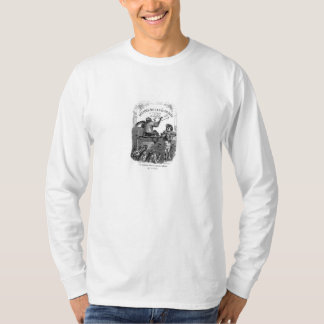 Classic Illustration Animals Painting a Picture T-Shirt