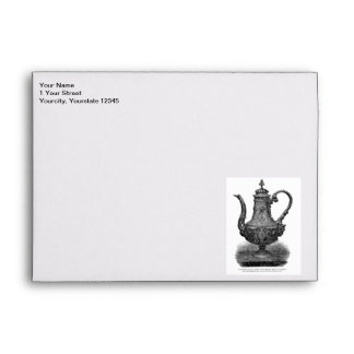 Classic Illustration Coffeepot by Christofle Envelope