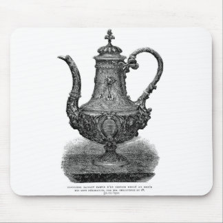 Classic Illustration Coffeepot by Christofle Mousepad