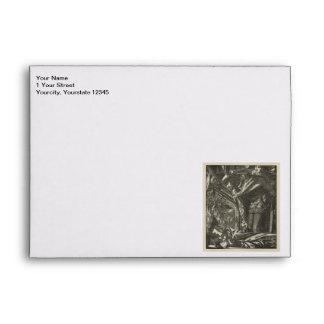 Classic Illustration for The Lady of Shalott Envelope