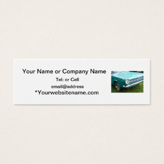 classic image of a antique dart nice color mini business card