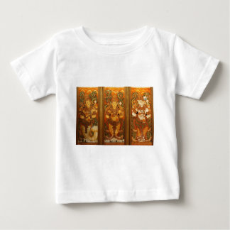CLASSIC INDIAN VINTAGE MURALS BABY T-Shirt