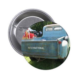 Classic International Truck 2 Inch Round Button