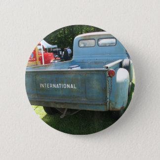 Classic International Truck Pinback Button