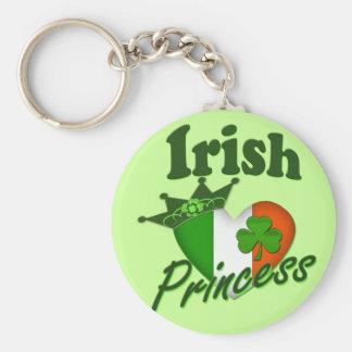 Classic Irish Princess Keychain
