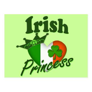 Classic Irish Princess Postcard