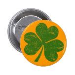 Classic Irish Shamrock Pins