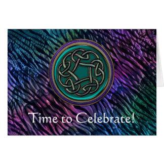 Classic Irish Toast Birthday / Congratulatory Card