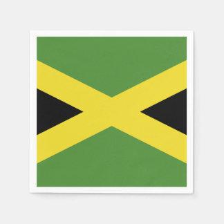 Classic Jamaican Flag Napkin