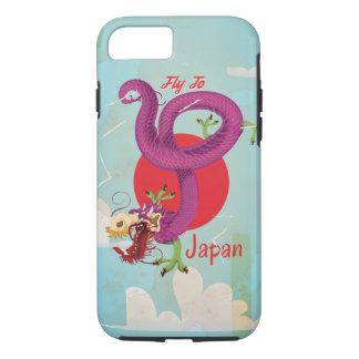 Classic Japan Dragon Vintage Travel Poster iPhone 8/7 Case