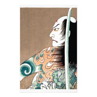 Classic Japanese Legendary Samurai Warrior Art Stationery