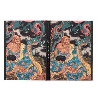 Classic Japanese Legendary Warrior Dragon art iPad Air Covers