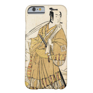 Classic japanese legendary warrior samurai art barely there iPhone 6 case