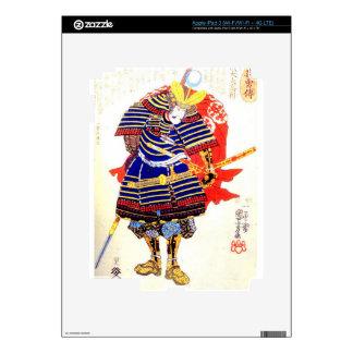 Classic Japanese Samurai Art Japan iPad 3 Skin