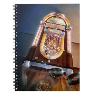 Classic Jukebox Notebook