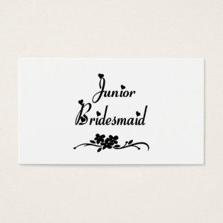 Classic Junior Bridesmaid Business Card