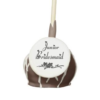 Classic Junior Bridesmaid Cake Pops