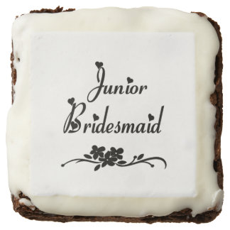Classic Junior Bridesmaid Chocolate Brownie