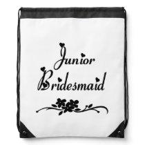 Classic Junior Bridesmaid Drawstring Bag