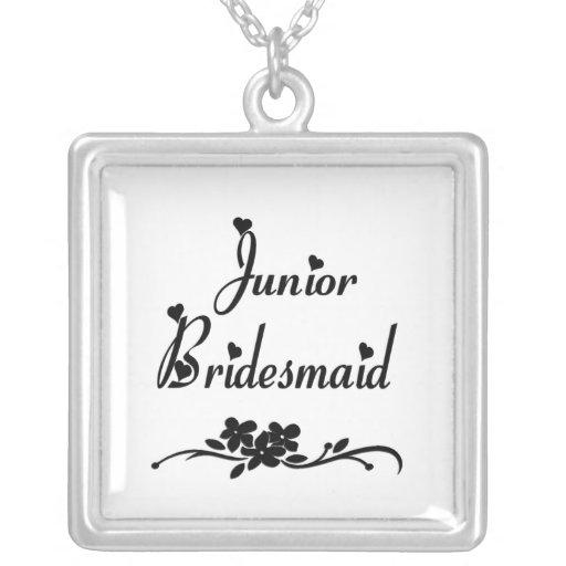 Classic Junior Bridesmaid Necklaces