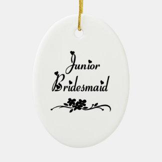 Classic Junior Bridesmaid Ornaments