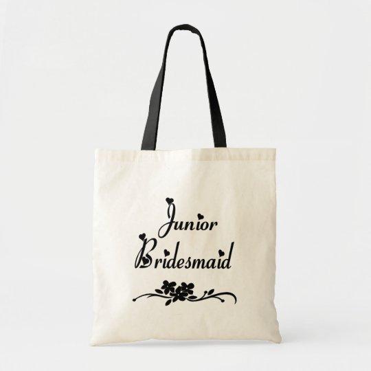 Classic Junior Bridesmaid Tote Bag