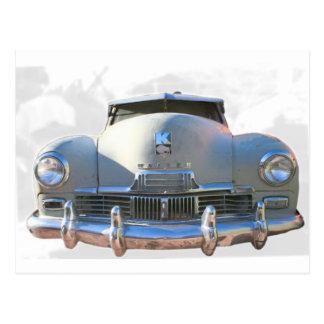 Classic Kaiser Auto Postcard