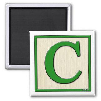 Classic Kids Letter Block C Magnet