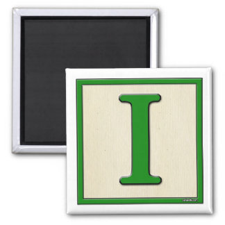 Classic Kids Letter Block I Magnet