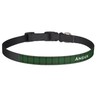 Classic Kincaid Tartan Plaid Custom Dog Collar