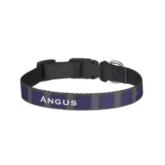 Classic Kinnaird Tartan Plaid Custom Dog Collar
