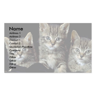 Classic Kittens Business Card