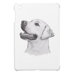 Case Savvy iPad Mini Glossy Finish Case with Labrador Retriever Phone Cases design