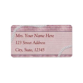 Classic Lace Address Lables Label