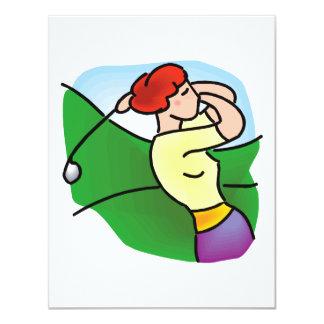 Classic Ladies Golf Card