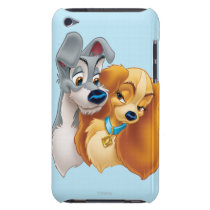 Classic Lady and the Tramp Snuggling Barely There iPod Cover