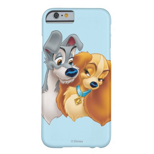 Classic Lady and the Tramp Snuggling iPhone 6 Case