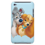 Classic Lady and the Tramp Snuggling Case-Mate iPod Touch Case