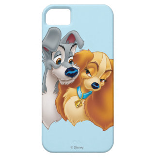 Classic Lady and the Tramp Snuggling iPhone 5 Case