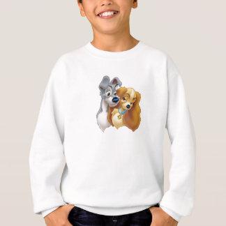Classic Lady and the Tramp Snuggling Disney Sweatshirt