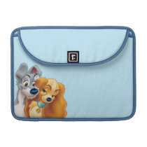 Classic Lady and the Tramp Snuggling Sleeve For MacBook Pro