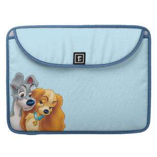 Classic Lady and the Tramp Snuggling Sleeve For MacBooks