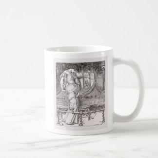 Classic Lady of Shalott Tangled in Webs Mug