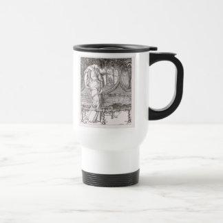 Classic Lady of Shalott Tangled in Webs Coffee Mugs