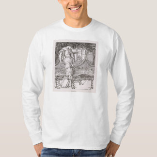 Classic Lady of Shalott Tangled in Webs T-Shirt