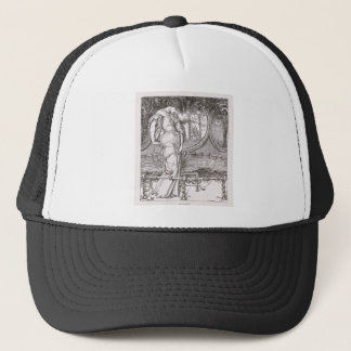 Classic Lady of Shalott Tangled in Webs Trucker Hat