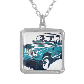 Classic Landie Silver Plated Necklace